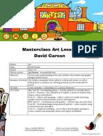 Masterclass Art Lesson David Carson