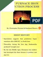ENCH4EM - Blast Furnace Iron Production Presentation