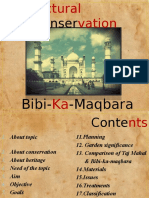 Documentation on Bibi Ka Maqbara