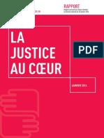 Rapport - La Justice Au Cœur