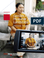 Gender in the Myanmar Media Landscape