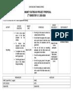 Project Proposal (Grp8) Outreach program 2016
