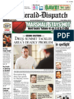 Front Page — The Herald-Dispatch, Jan. 17, 2010