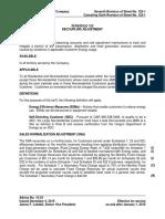 Portland General Electric Company-Rider123January2016