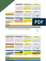 Structura Anului Universitar 2015-2016