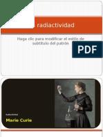 Ejeplo La Radiactividad X