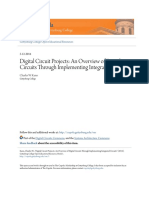 Digital Circuit Projects an Overview of Digital Circuits Through Implementing Integrated Circuits