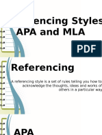 7 Referencing Styles