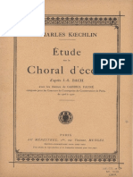 Koechlin C - Etude Sur Le Choral d Cole