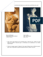 Evolució de La Figura de Venus en la H. de l'art