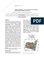 Assessment of Geothermal Potential at Ungaran Volcano, Indonesia