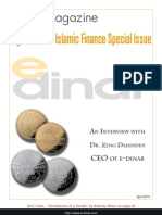 Interview with Dr. Zeno Dahinden, CEO of e-dinar.com, March, 2010