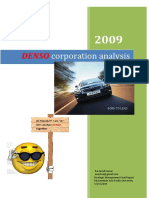 Denso Analysis