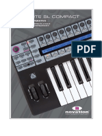 Novation SL Compact Manual