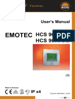 Sauna controller service manual EOS HCS9003 en NL