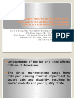 Shared Decision Making in Patients With