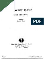 Satwant Kaur_English-Bhai Vir Singh