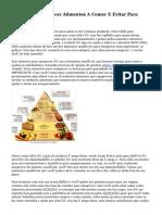 Dieta Para Emagrecer Alimentos A Comer E Evitar Para Perder Peso