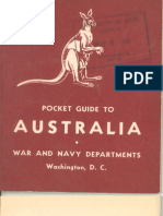 Australia Pocket Guide (1943)