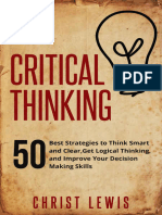 Critical Thinking- Christ Lewis