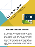 Clase 15. El protesto.ppt
