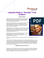 """Capitalist Nader's 'Socialist' Foot Soldiers"", Revolution October 2004"