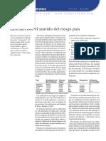Riesgo Pais 2003
