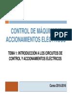 Control de Maquinas Introduccion