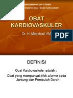 Obat Kardiovaskuler Dr.masyhudi