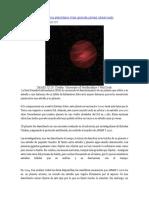 Descubierto El Sistema Planetario Más Grande Jamás Observado