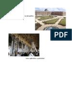 Curtea Si Gradinile de La Versailles
