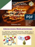 INTERACCIONES MEDICAMENTOSAS EN FARMACOS