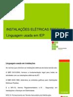 Aula 03 - Linguagem Usada Em Instalações Elétricas Prediais