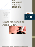 Asma Exacerbaciones