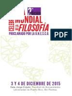 Programa Dia Mundial 2015