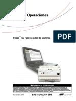 Guía de Operaciones Diarias Tracer SC
