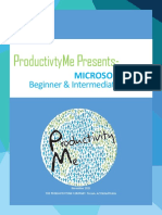 Productivityme Beginner and Intermediate Training Course Pdfpdf