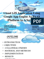Cloud GIS Application Using Google App Engine As