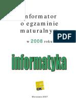 Informatyka od 2008 r.
