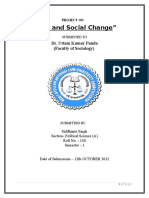 Law & Social Change
