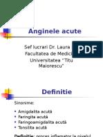 Anginele Acute