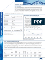 2009 Dec 31 - STOXX Global Select Dividend 100 ETF