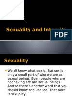 Sexuality and Integrity