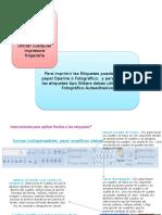 Instrucciones y Papeles