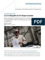 Los 13 Abogados de El Chapo Guzmán _ Internacional _ EL PAÍS