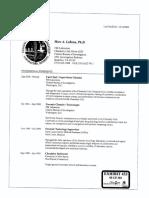 Trial Exhibit 433 CV of Marc LeBeau