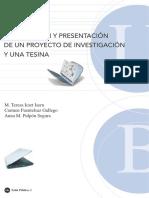 ELABORACION Y PRESENTACION DE UN PROYECTO DE INVESTIGACIÓN Y UNA TESINA.pdf