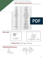Formulário Mecânica Dos Materiais