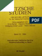 Volker Gerhardt Von Der Ästhetischen Metaphysik Zur Physiologie Der Kunst