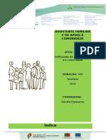 3516 - Instituições de Apoio Familiar e à Comunidade